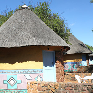Ethnic Thatched Rondawels
